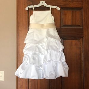 David's bridal flower girl miniature bride dress